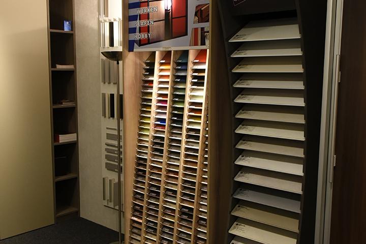 Showroom - Overzicht deurvullingen van New IPD kasten