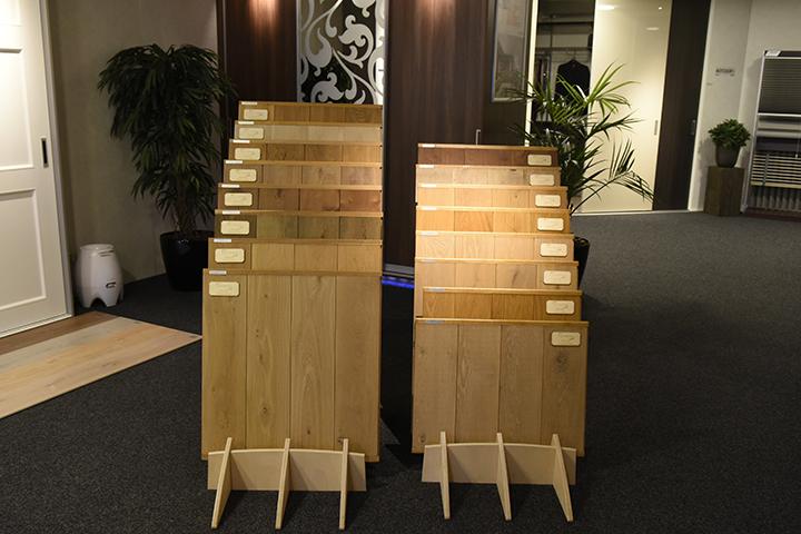 Massief houten vloer - Selection Retro en Selection Middeleeuws gerookt (lamelparket vloeren)
