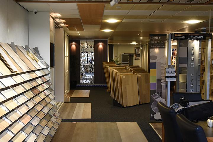 Showroom - Overzicht laminaatvloeren en massieve vloeren