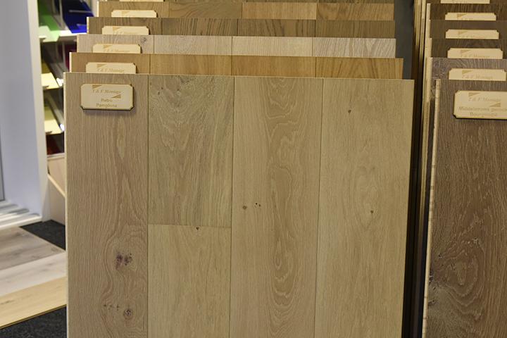 Massief houten vloer - Frans eiken massieve vloerdelen in wisselende lengtes