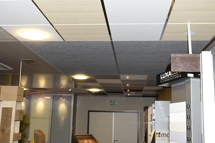 Systeemplafonds - Alu systeemplafonds in de afmetingen 120x120cm