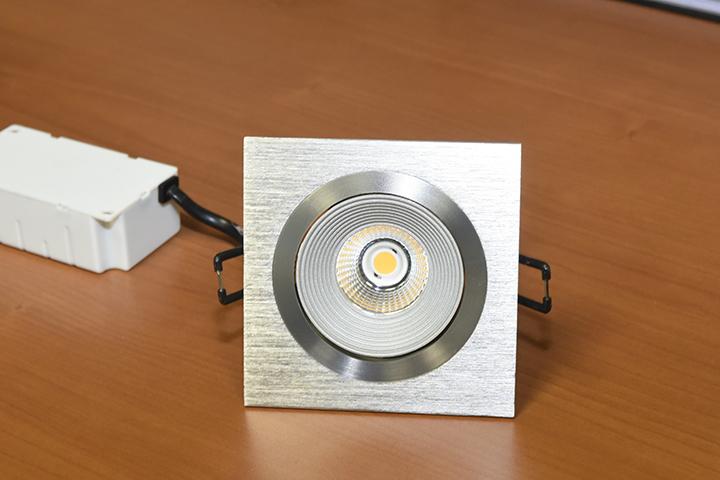 LED verlichting - Vierkante LED inbouwspot met driver