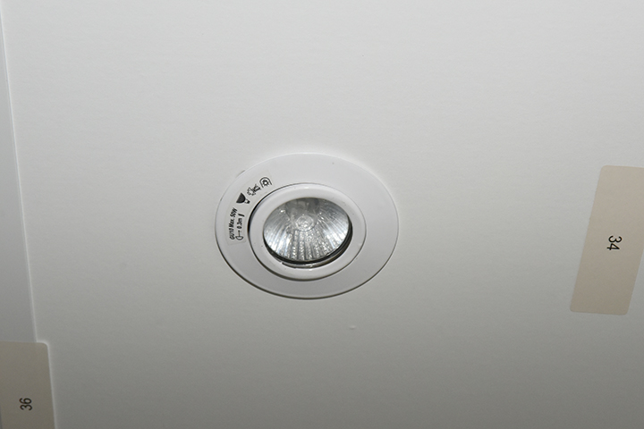 Spots - Halogeen vol aluminium inbouwspit (wit)