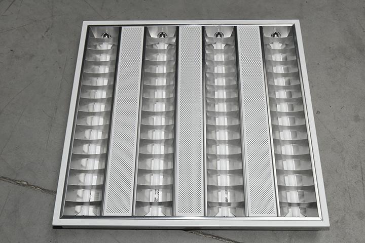 TL verlichting - TL verlichting (T5 armatuur, geperforeerde tussenbanen)