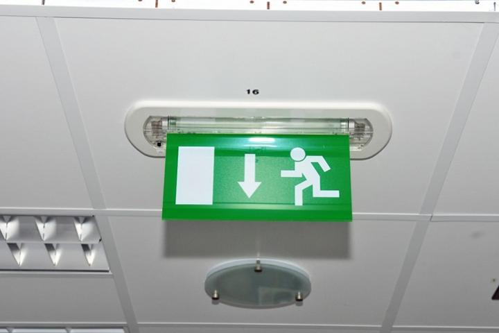 Verlichting - LED noodarmatuur (noodverlichting met vluchtroute)