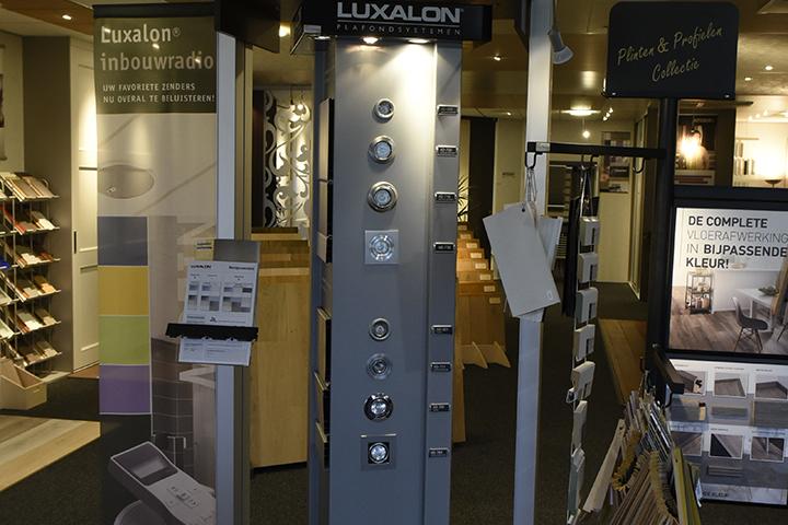 Verlichting - Verschillende types Luxalon inbouwspots
