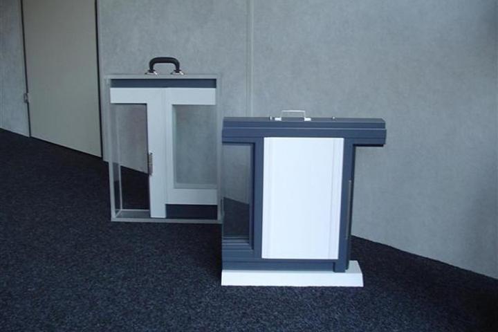 Gipsvinyl wanden - Voorbeeld van de opbouw van een gipsvinyl wand
